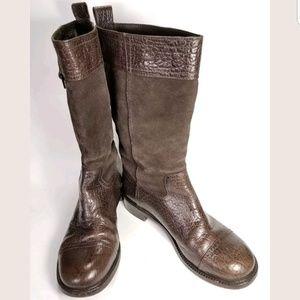 Tory Burch Knee High Boots Women's Size 8 M